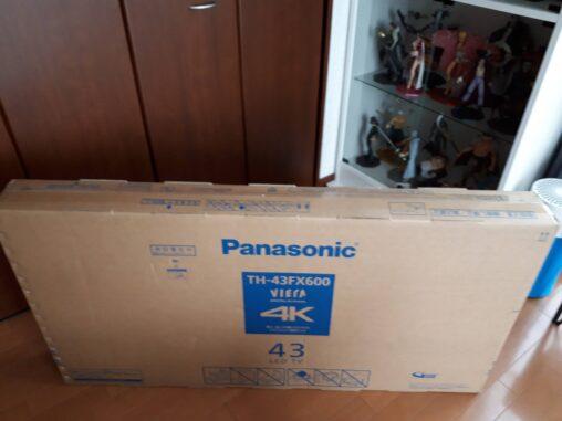 【速報】ワイのハウスに4Kテレビ届いたぞ!