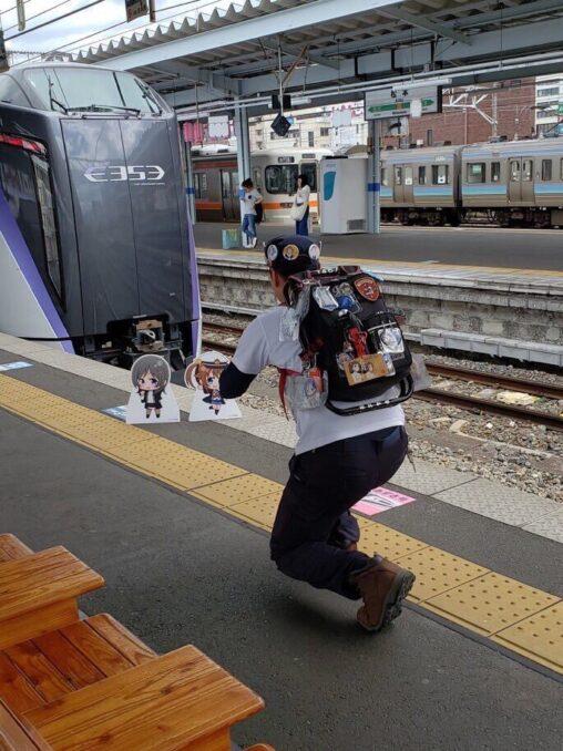 【日本の絶滅危惧種!】香ばしい撮り鉄が居たので晒す