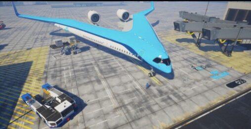 【見たことあるか?】これ飛ぶ?オランダの旅客機ワロタ www