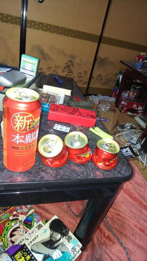 【当たり前!】普通にビール缶ってこのくらい潰すよな?