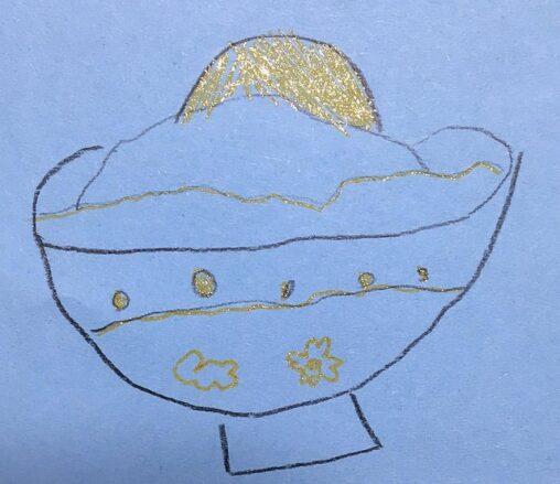 【伝わる?】人生初の卵かけご飯。6歳の女の子が食後に描いた絵に、感動のすべてが詰まってた