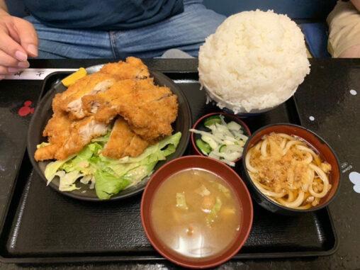 【クラエ!】このチキンカツ定食を8分以内に完食で賞金1万円 ←やる?