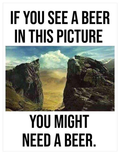 【ちょっと無理がある?】この画像がビールに見えるヤツ