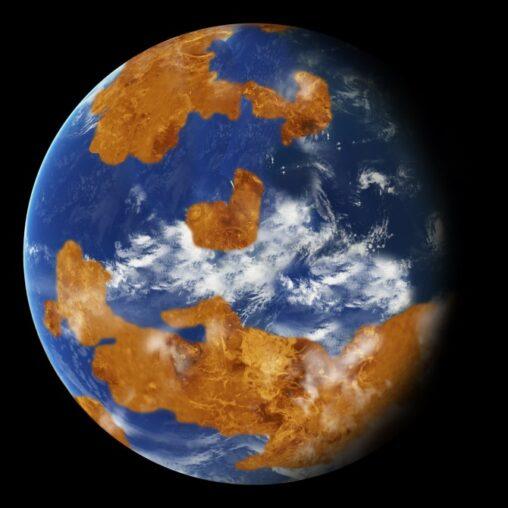 【宇宙連邦】金星は7億年前まで地球と同じような気候だったシミュレーションが明らかにする新事実