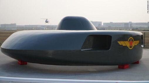【中国】まるでUFO、異形の軍用ヘリ試作機がお披露目ルンバ