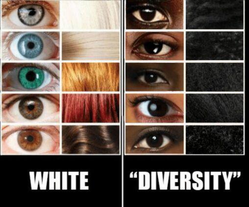 【俺ら有色人種は目黒黒髪なのに…】白人ってなんで鮮やかなの?