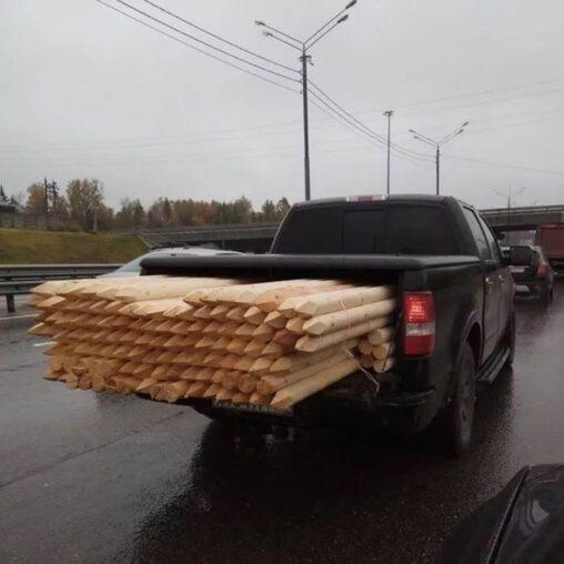 【覚悟】運転してて前の車がこういうの詰んでるとパニックになるヤツ