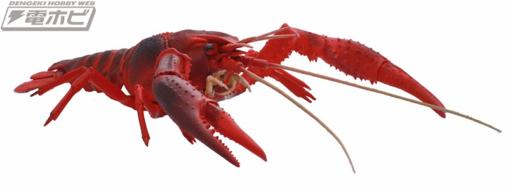 【臭そう】アメリカザリガニがフジミ模型でプラモデル化! お値段2900円