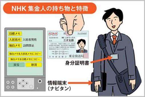 【ヤクザ?】NHKの集金人ヤバすぎワロタ、こんなんが家に来たらどう対処すんだよ