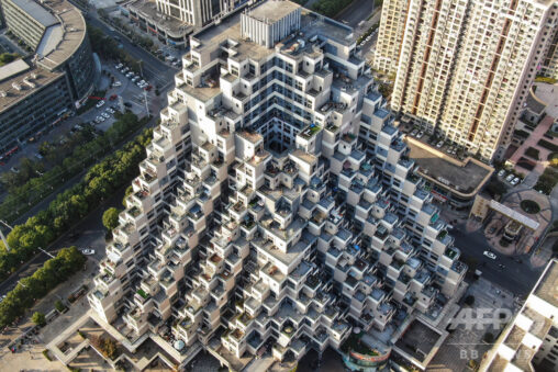 【パズルゲームみたい!】中国のマンションがすごい