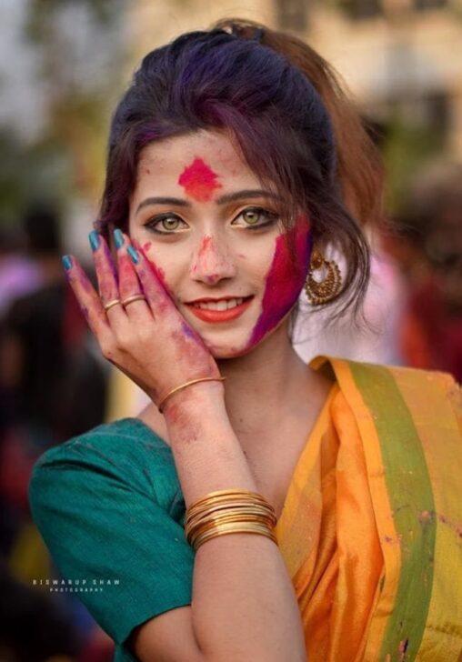【でも体臭がスパイス?】インド人の女性、ガチで美人過ぎる…