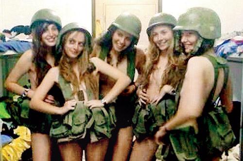 【現代の女騎士じゃん!】イスラエルの女性兵士