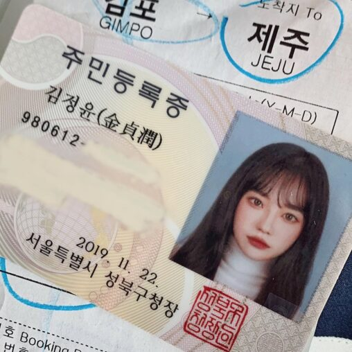 【加工だ…】韓国人女性の証明写真が可愛すぎると話題に