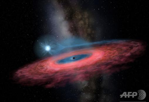 【宇宙マジヤバい】銀河系には存在すらしないはずの超巨大な恒星ブラックホールが発見されてしまう