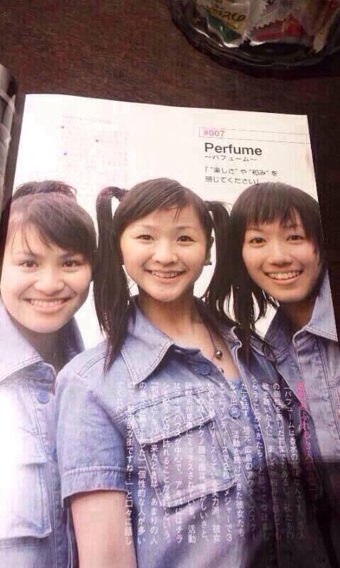 【今の2代目で路線変更!】初代perfumeヤバすぎ