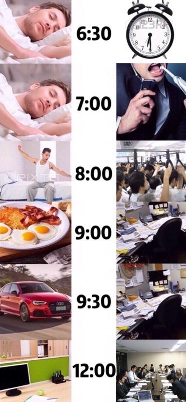 【仕事も過労なイメージなんだけど…】日本とアメリカの1日の違い