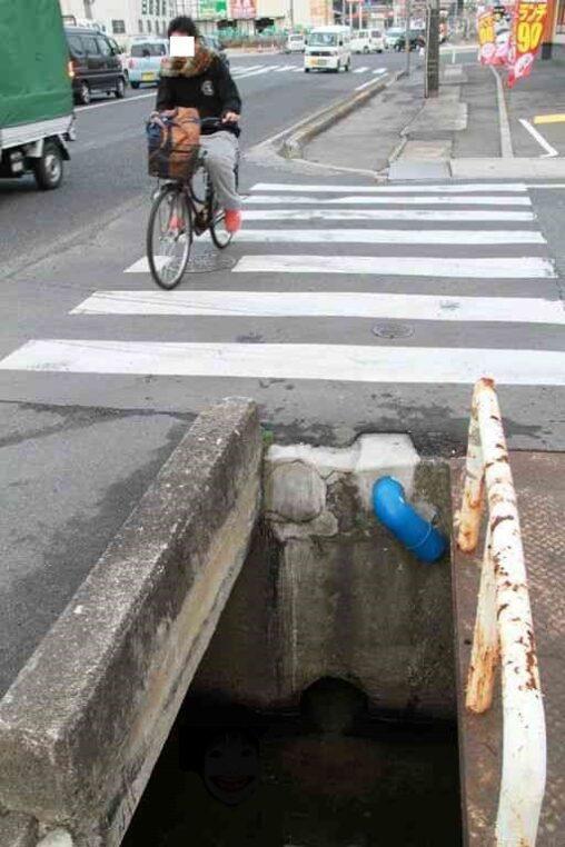 【岡山年間100人以上死…】田舎の用水路がやばい