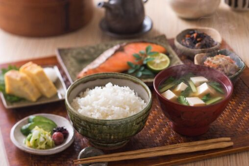 【旅館かよ!】日本人の平均的朝食の量がこちら