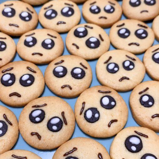 【ぷゆゆ?ぴえん!】Twitterで47.9万いいねを記録したクッキーがこちら