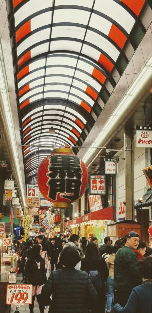 【高い?】外国・中国人相手にボッタクリしてた黒門市場、ガラガラ