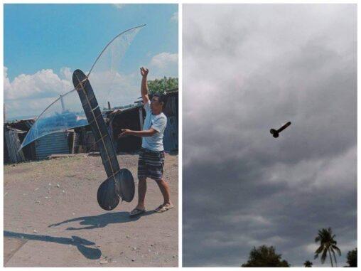 【万国共通の笑い】フィリピン人、ちんこの形をした凧を飛ばして炎上