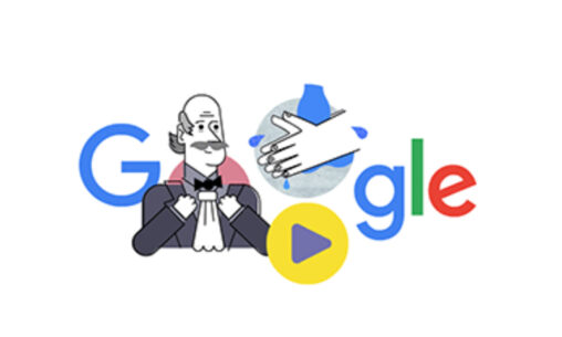 【今日のGoogle先生】タッチすると手洗いの動画が始まる仕様に🙌コロナ対策