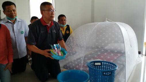 【ニュース】タイの新型コロナ高リスク国から来た人向け隔離施設をご覧ください