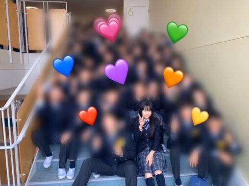 【学校モテる】本田望結さん、クラスの男とイチャつき写真流出…