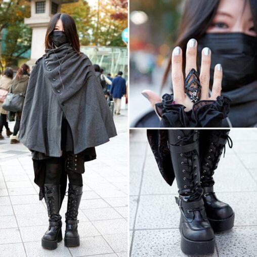 【全身黒はダサい?】女さん、マスクに合うファッションを生み出す