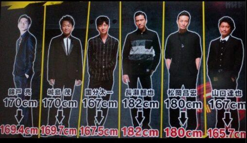 【ジャニーズ!】TOKIOのメンバー身長(サバ読んでない低い?まとめ)