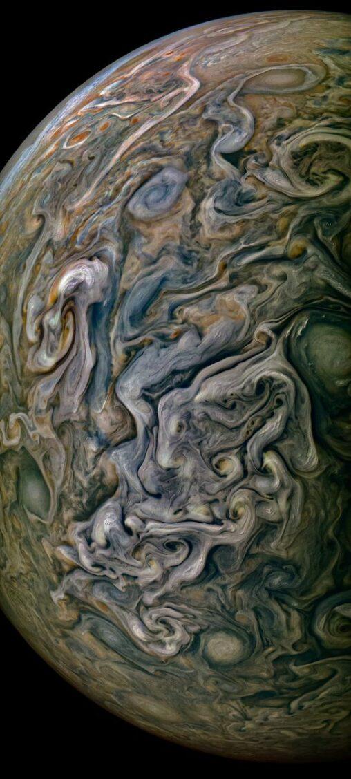 【気持ち悪い!】NASAが公開した最新の木星画像、グロい