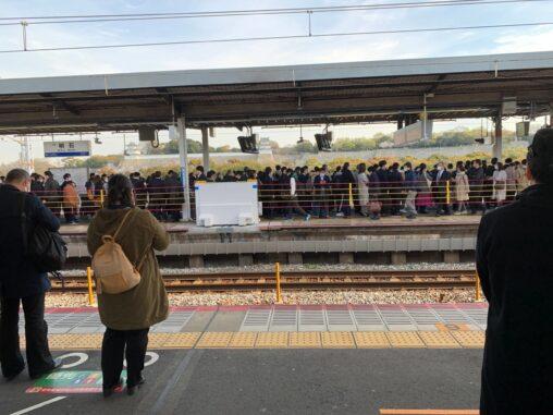 【フェイク?無視?】緊急事態宣言が出る兵庫県の明石駅、現在の効果様子