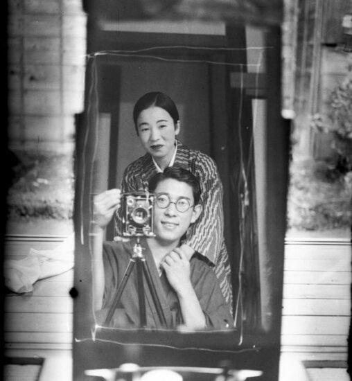 【恋愛デート】100年前のカップルの自撮り