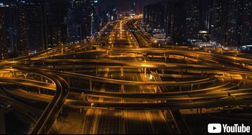 【風景】ロックダウン中のドバイ、人や車が消えた街を写した映像が非現実的な静けさ