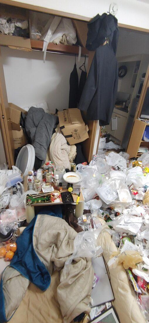 【ゴミ生活の生き方!】独身の俺の部屋晒すから評価してくれ
