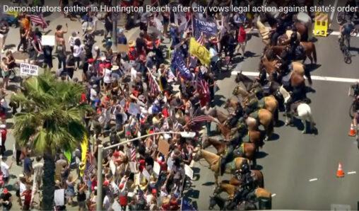 【ロックダウンストレス感染…】アメリカのデモ、凄かった。トランプ終了へ