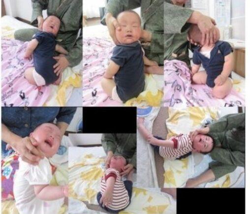 【赤ちゃんは被害者!親怖い…】ズンズン運動、痛そう(殺人体操)