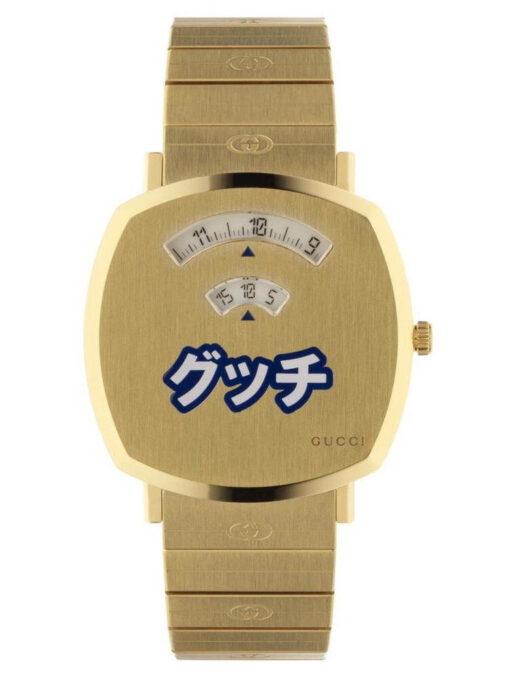 【ださいカタカナ時計!】グッチのデザイナー、投げやり
