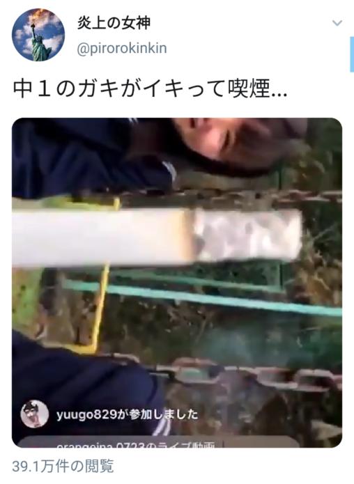 【悪い行い!】中1のメスガキさん、イキってタバコを吸ってしまうアホ