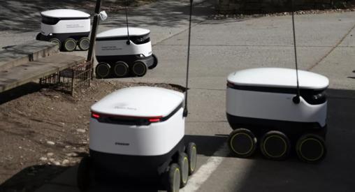 【英国スターシップ・テクノロジーズ】配達ロボットが大活躍