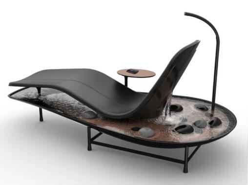 【癒される!】池付きの椅子、発売される