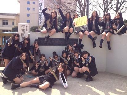 【混ざってパシリにされたい!】底辺高校の卒業式の写真