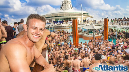 【アトランティス】5000人のゲイが密集するクルーズ船、間も無く日本へ