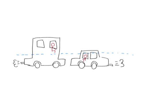 【両方は助からない】交通死亡事故を減らす画期的方法を思いついた