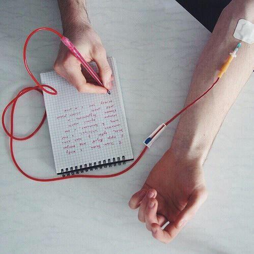 【アート!】命を削って書ける赤ペンがヤバすぎる