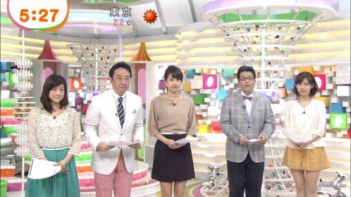 【大塚さんは既に休業中!】7年前のめざましテレビがこれ