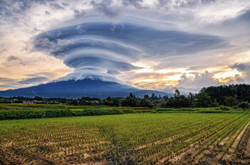 【雲!】富士山