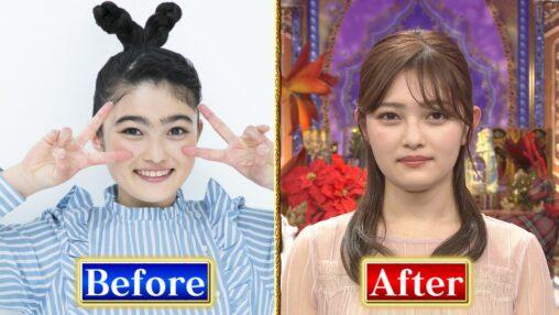 【個性0】激太眉だった井上咲楽さん、細眉毛にしたとたん超可愛くなってて草