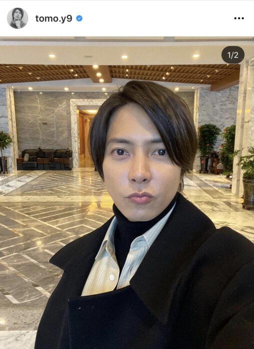 【アメリカで活動中!】山下智久(36)、自撮りしてしまう