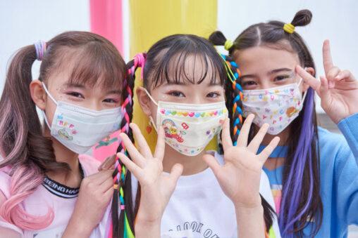 マスクを自作デザイン出来るおもちゃが発売!マスクを作って学校前で児童に配れば話題になるぞ